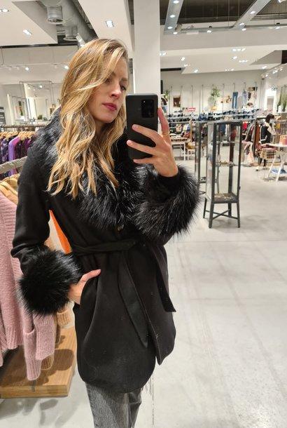 PEPITES veste amanda noire