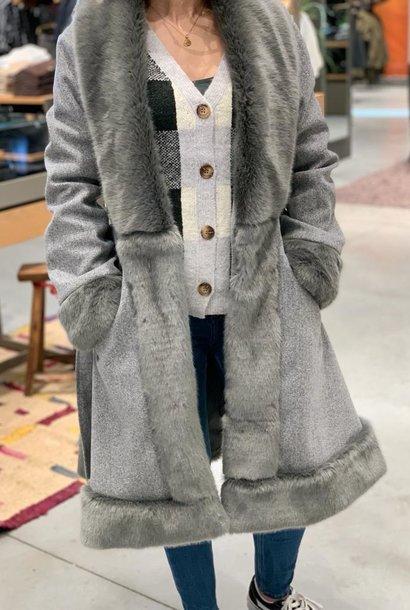 CAROLINA veste grise