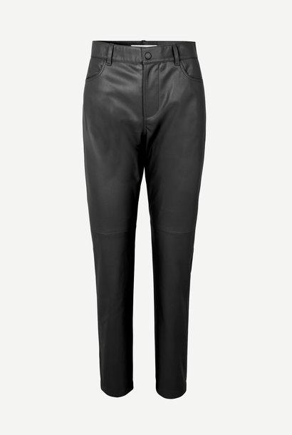 SAMSOE SAMSOE pantalon moulant similicuir