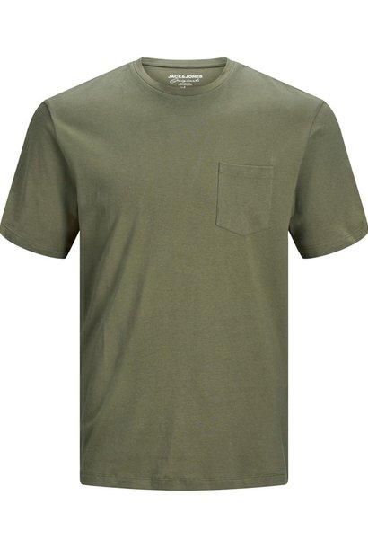JACK &JONES t-shirt avec une poche sur la poitrine
