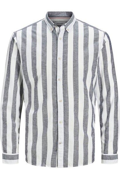 JACK &JONES chemise boutonnée à rayures
