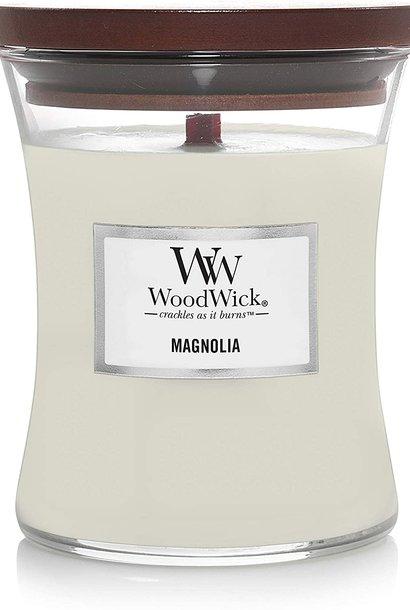 WOODWICK bougie moyenne magnolia