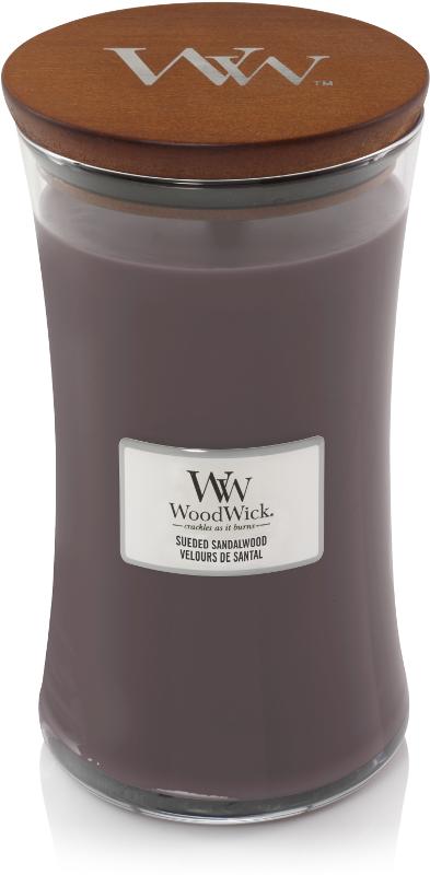 WOOD WICK suede sandal wood large-1