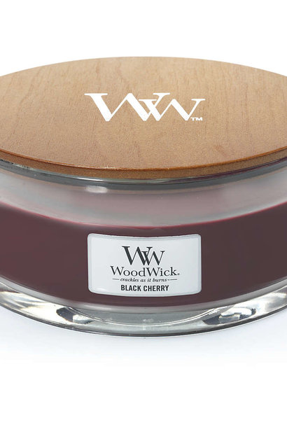 WOOD WICK black cherry ellipse