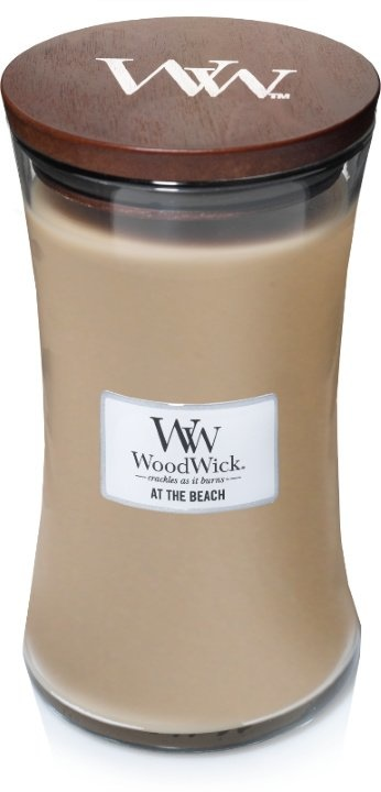 WOOD WICK  bougie  at the beach large-1