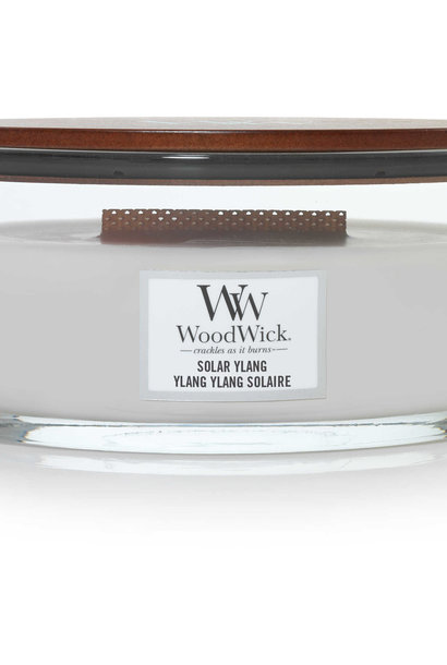 WOOD WICK bougie ylang ylang solaire ellipse