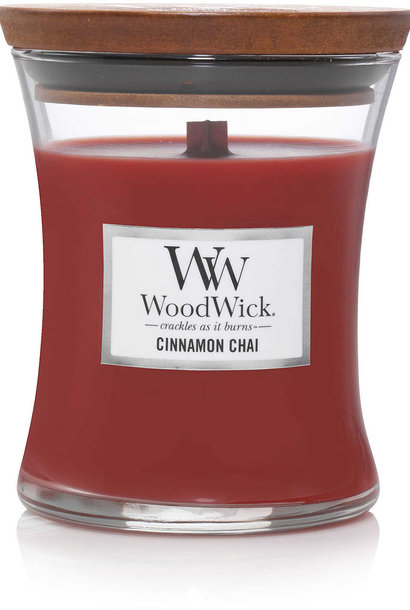 WOOD WICK  bougie cinnamon chai medium