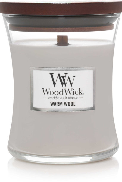 WOOD WICK  bougie warm wool medium