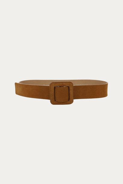 BA&SH ceinture boucle carrée betty