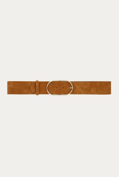 BA&SH ceinture en cuir cole