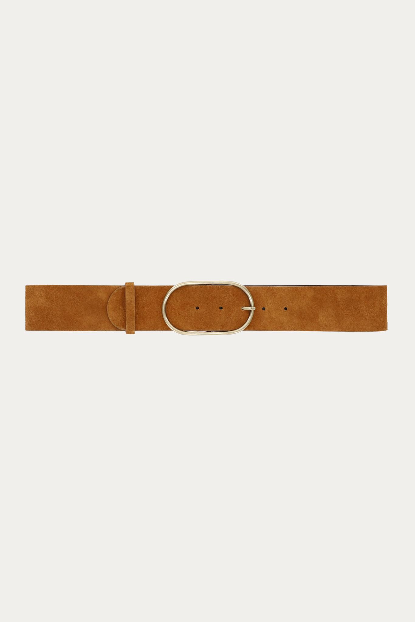 BA&SH ceinture en cuir cole-1