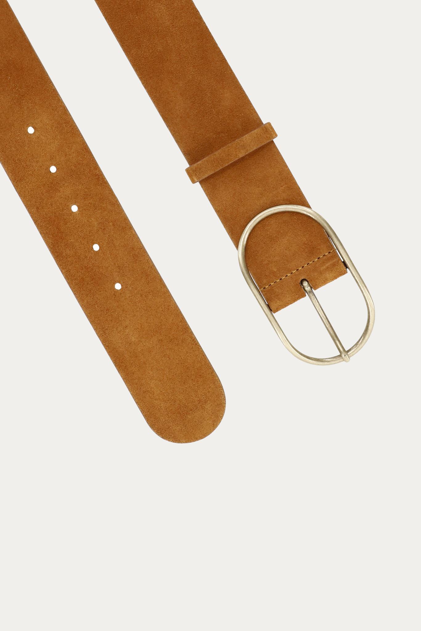 BA&SH ceinture en cuir cole-2