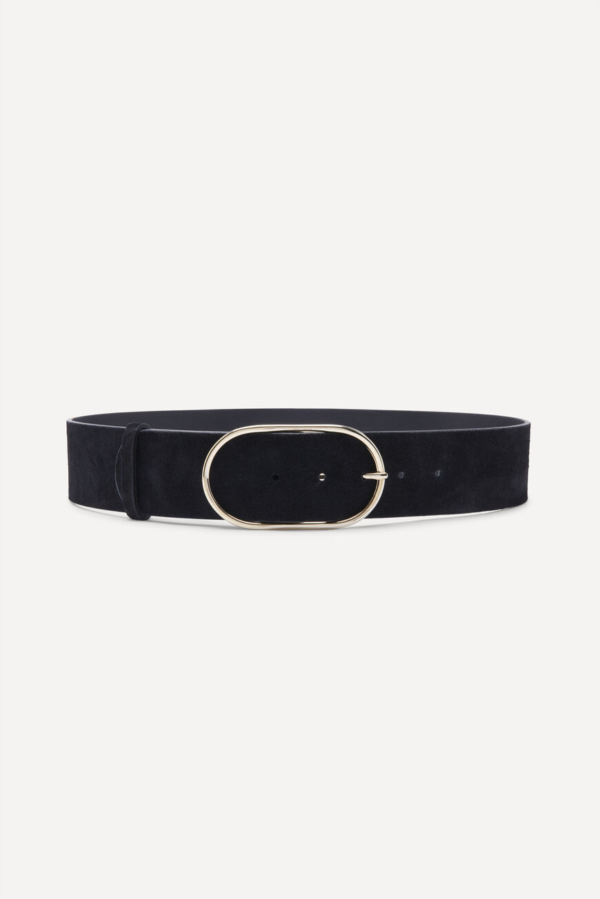 BA&SH ceinture en cuir cole-3
