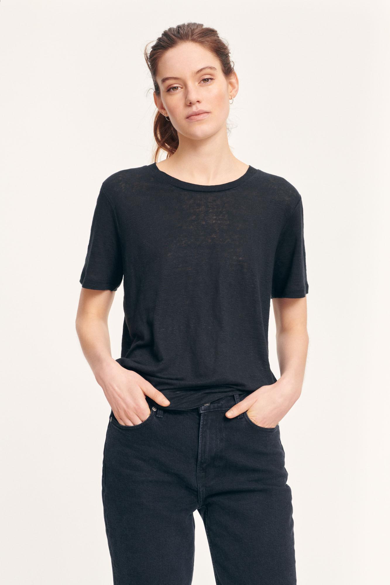 SAMSOE t-shirt agnes-2