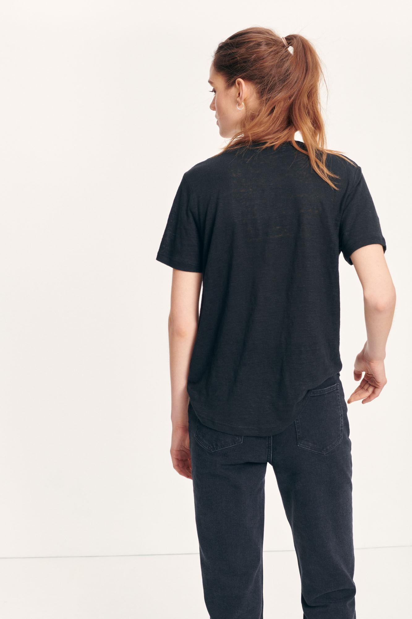 SAMSOE t-shirt agnes-5