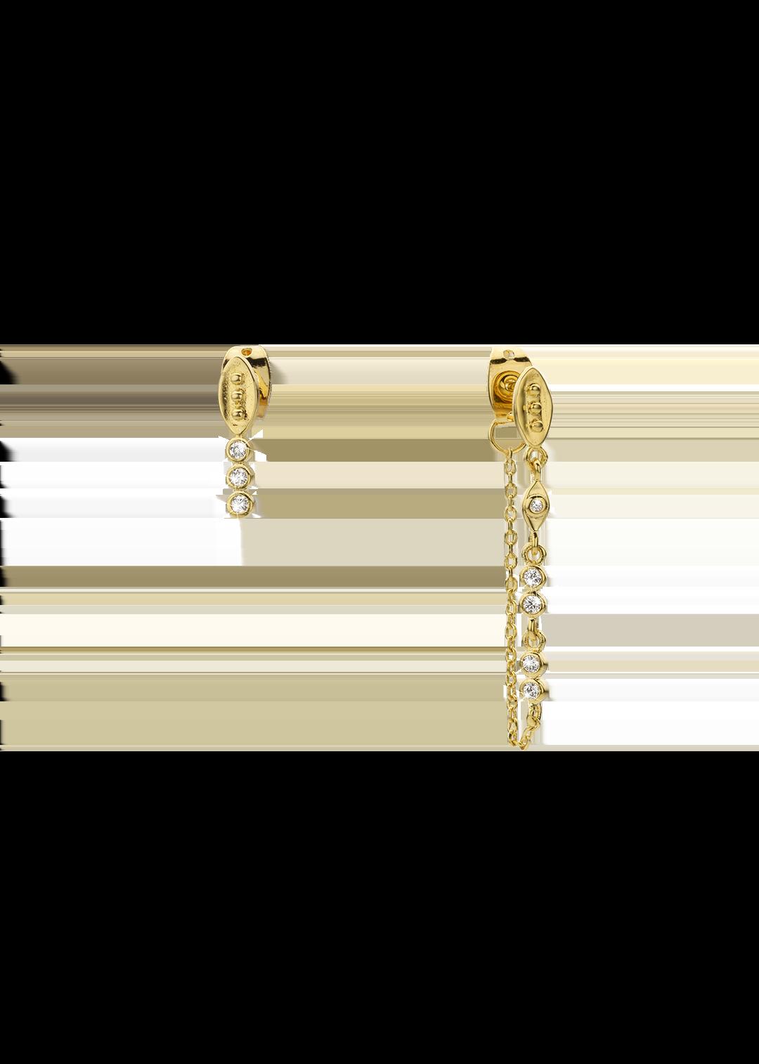 MYA BAY  boucles d oreilles jasmine-1
