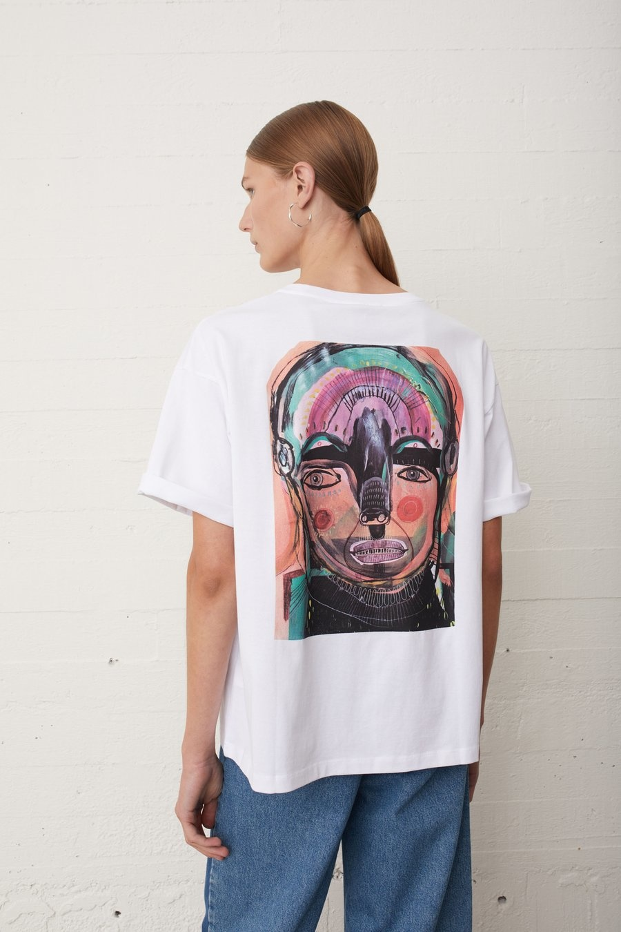 JUST FEMALE t-shirt sjulle-1