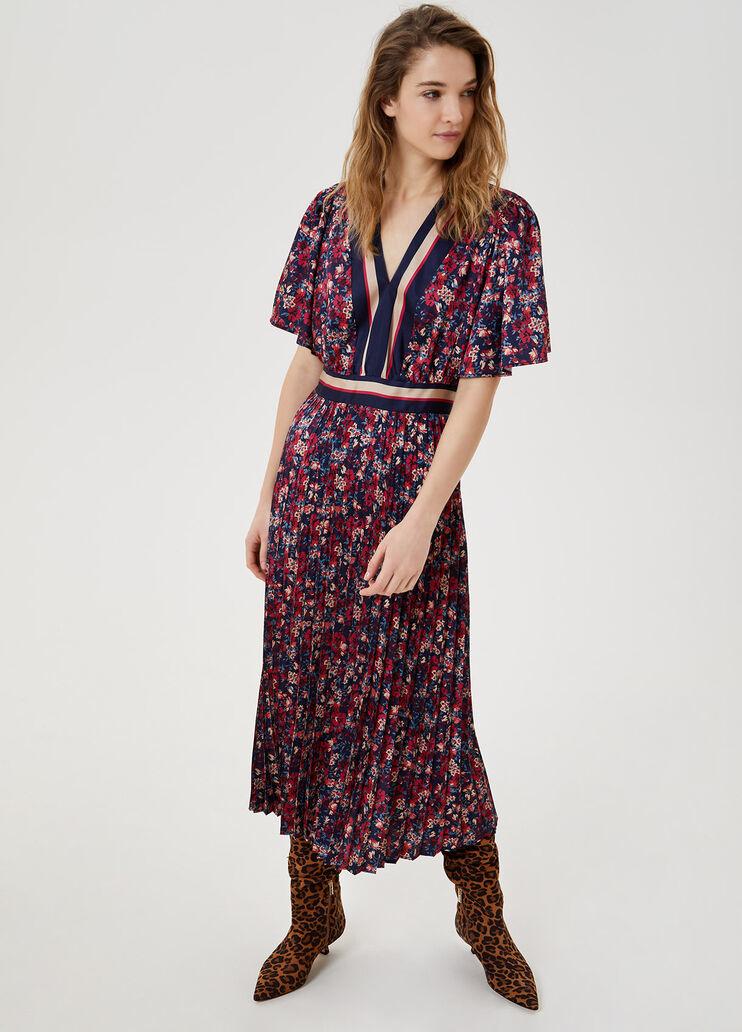LIU JO robe midi plissée-1