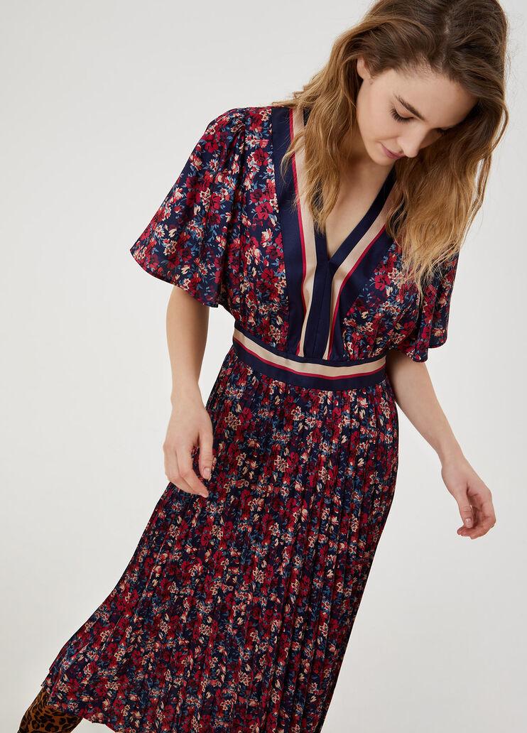 LIU JO robe midi plissée-3