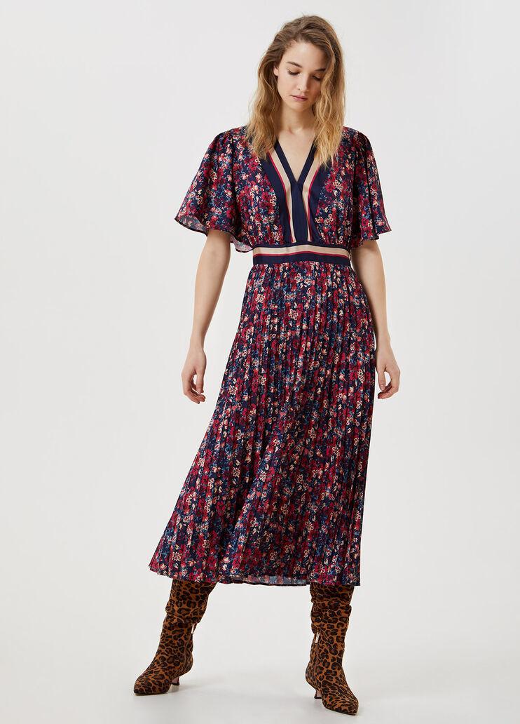 LIU JO robe midi plissée-4