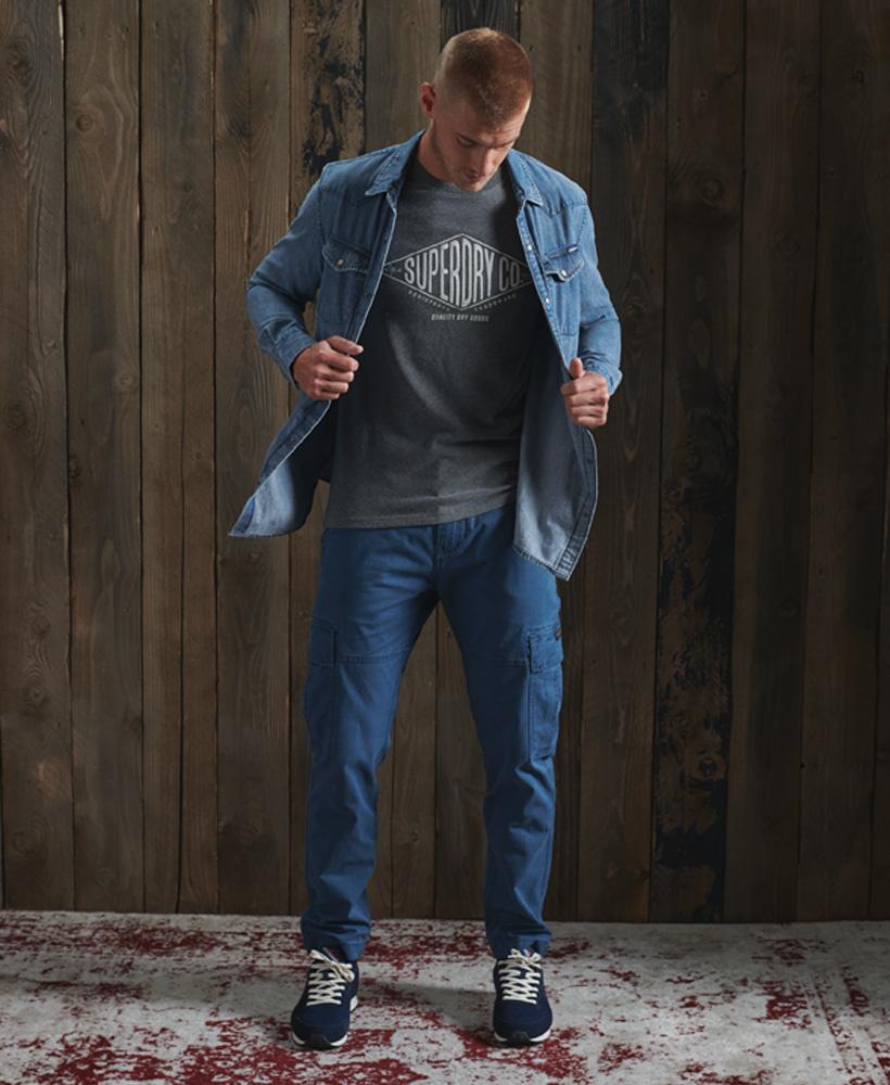 SUPERDRY chemise jeans  resurrection-2