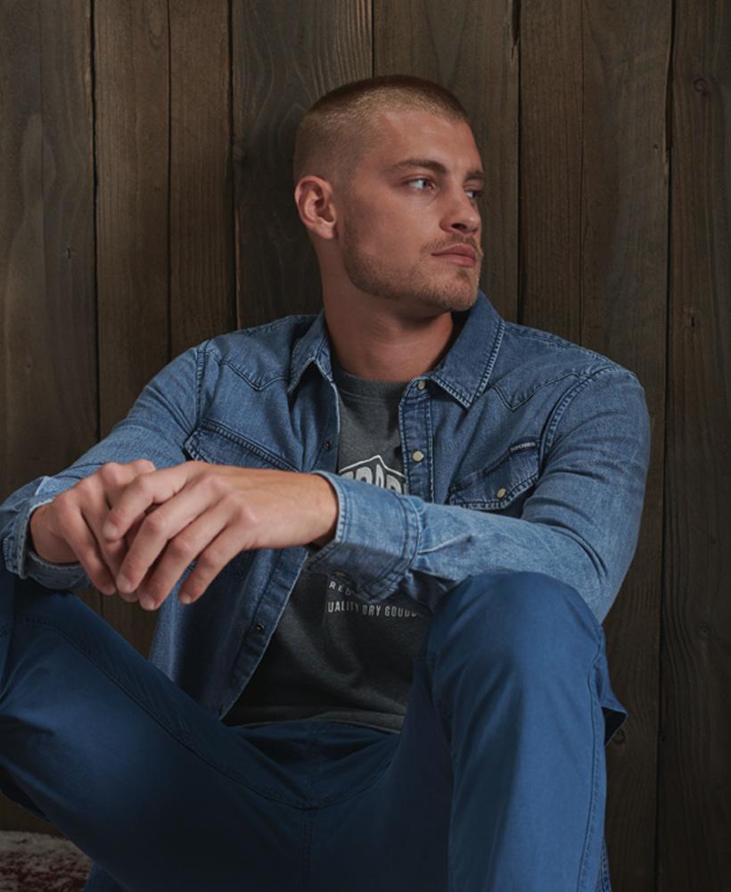 SUPERDRY chemise jeans  resurrection-3