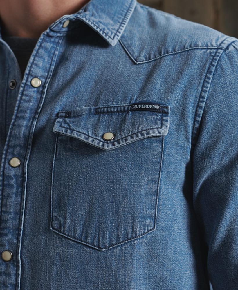 SUPERDRY chemise jeans  resurrection-4