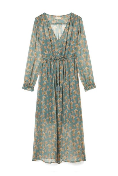 Robe Chally Storm Flowers