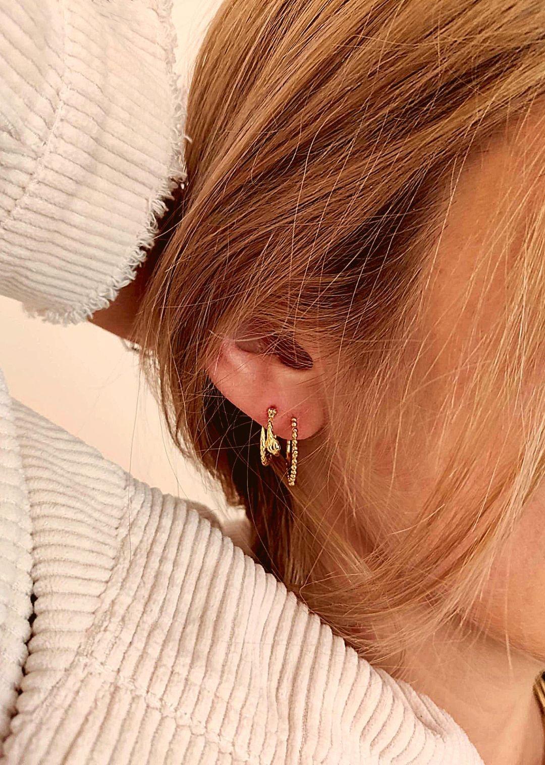 MYA BAY boucles d oreilles petite serpiente-2