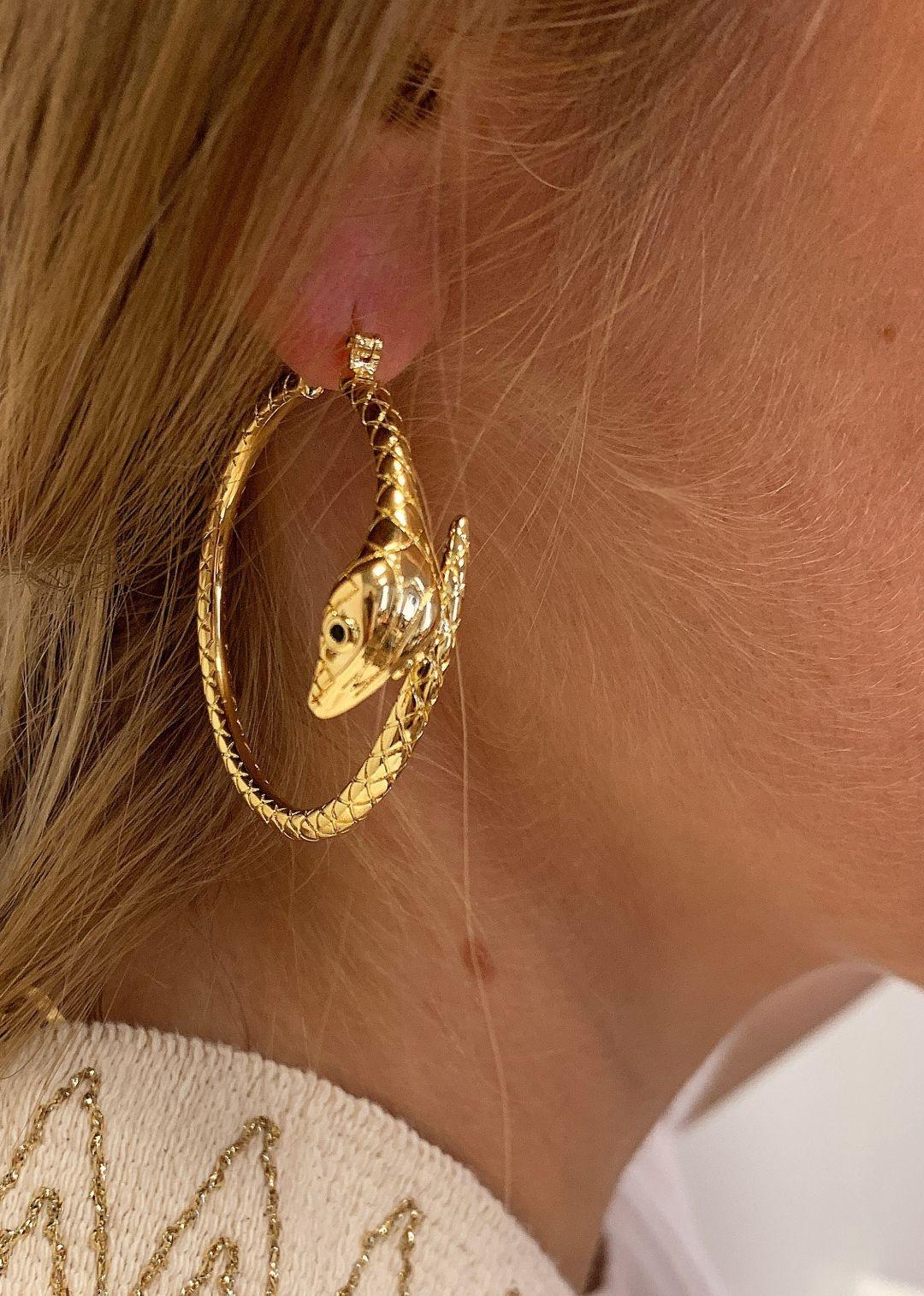 MYA BAY boucles d oreilles serpiente-2