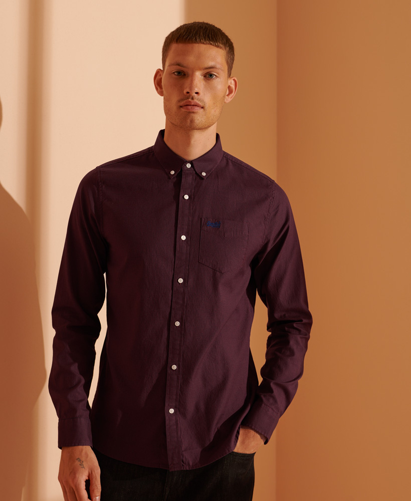 SUPERDRY chemise oxford classic-1