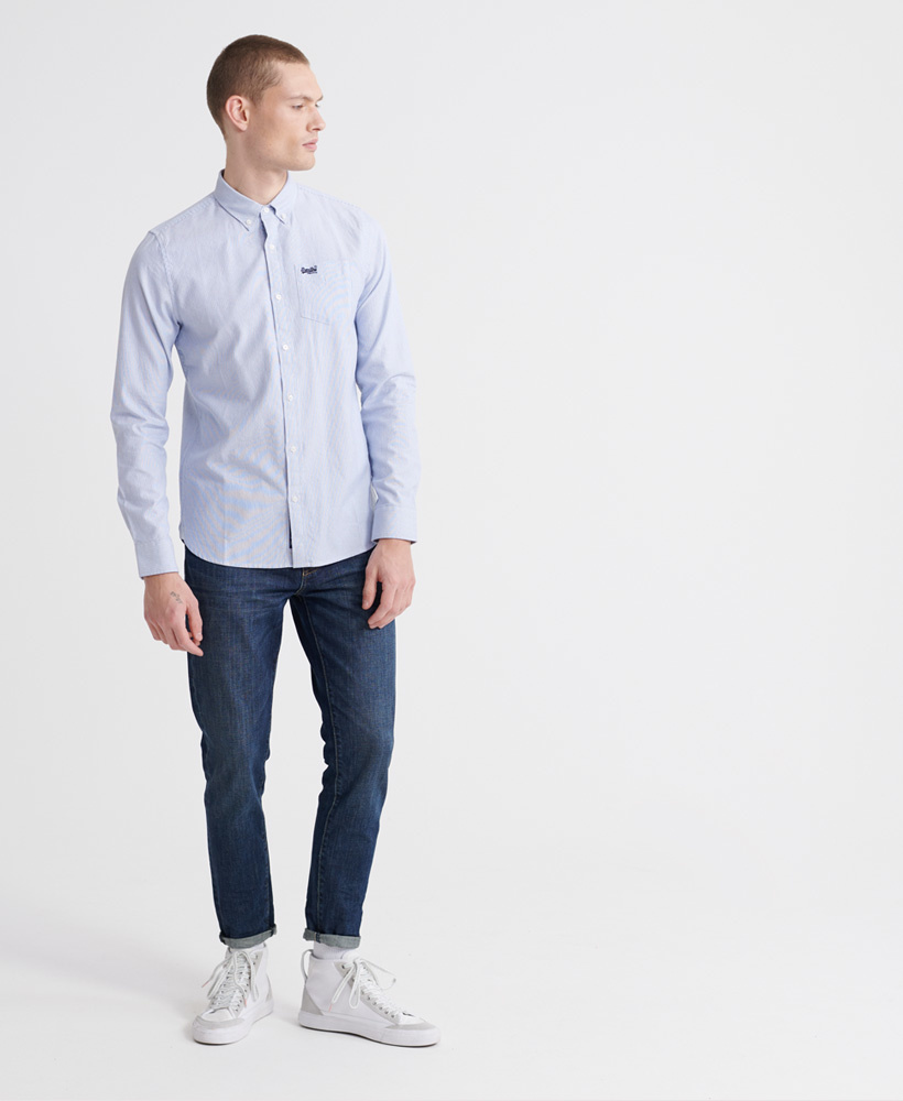 SUPERDRY chemise oxford classic-2