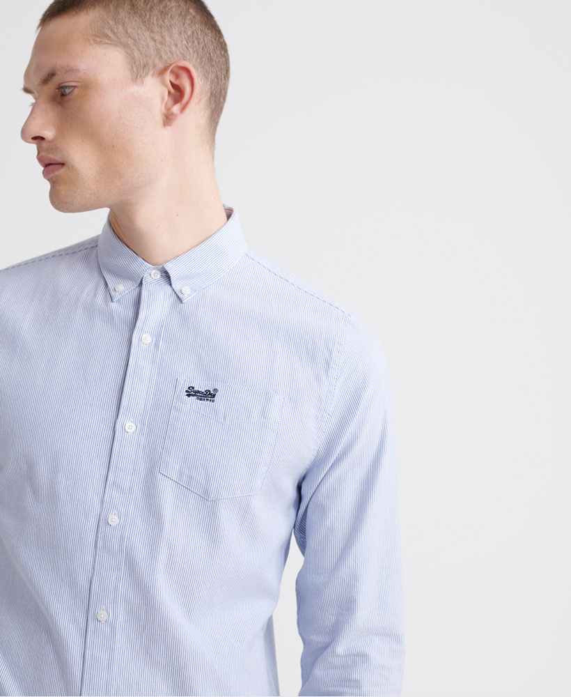 SUPERDRY chemise oxford classic-3