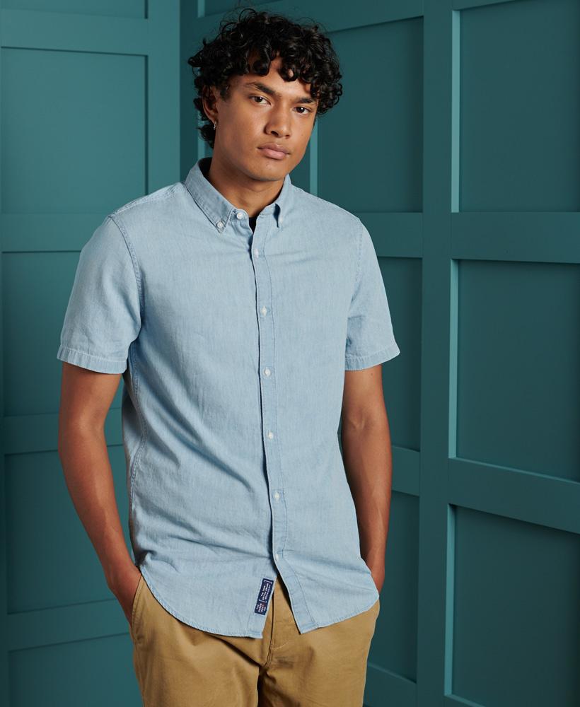 SUPERDRY chemise classique-5