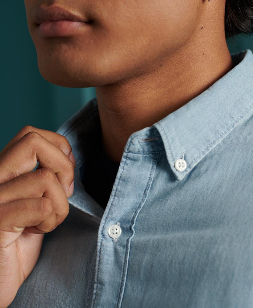 SUPERDRY chemise classique-7