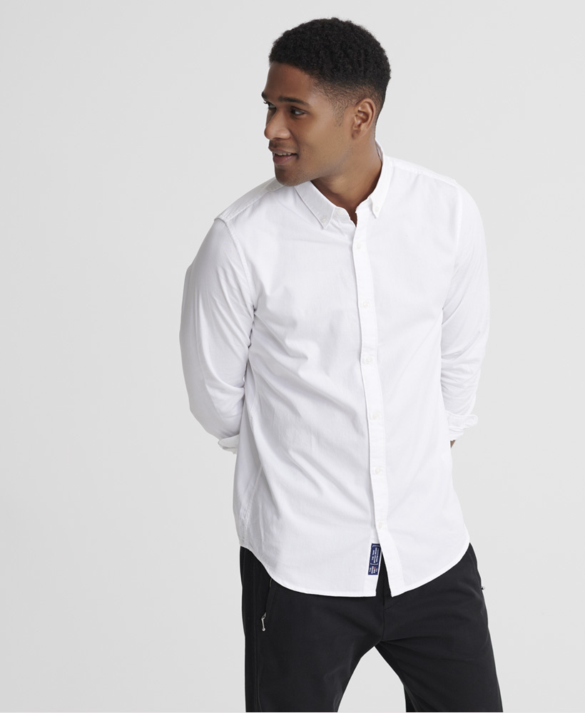 SUPERDRY  chemise classic twill lite-2