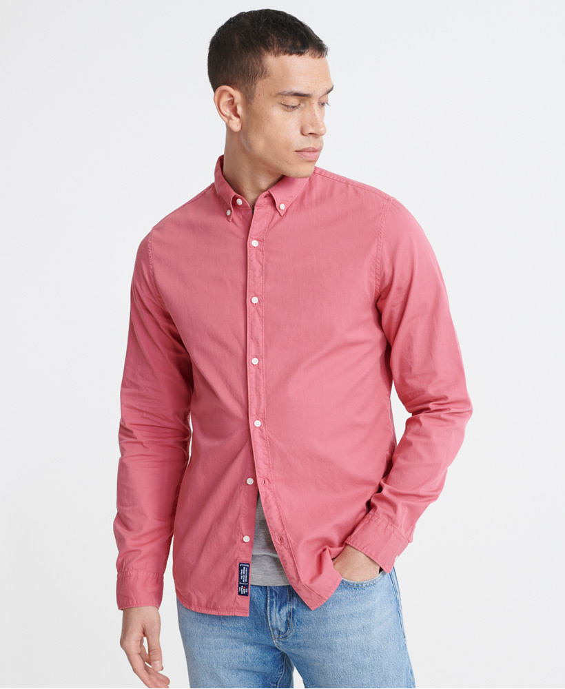 SUPERDRY  chemise classic twill lite-7