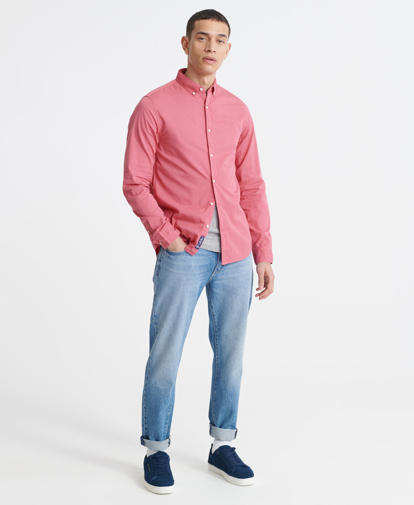 SUPERDRY  chemise classic twill lite-8