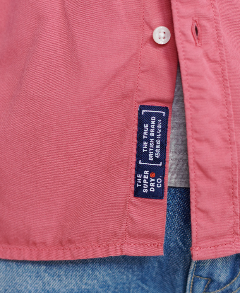 SUPERDRY  chemise classic twill lite-12