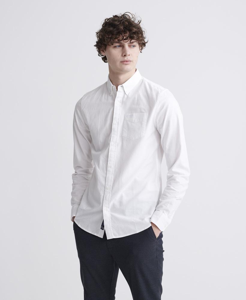 SUPERDRY chemise oxford classic university-1