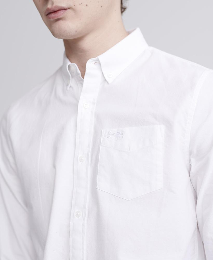 SUPERDRY chemise oxford classic university-2