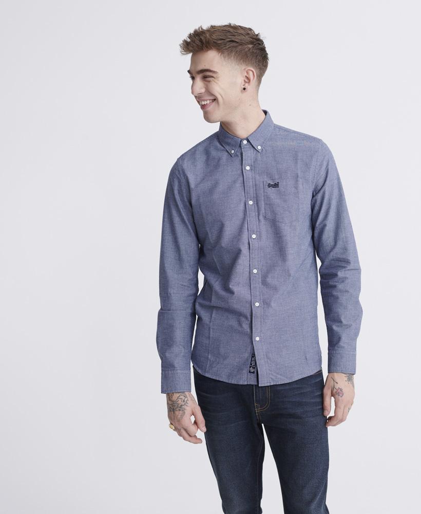 SUPERDRY chemise oxford classic university-4