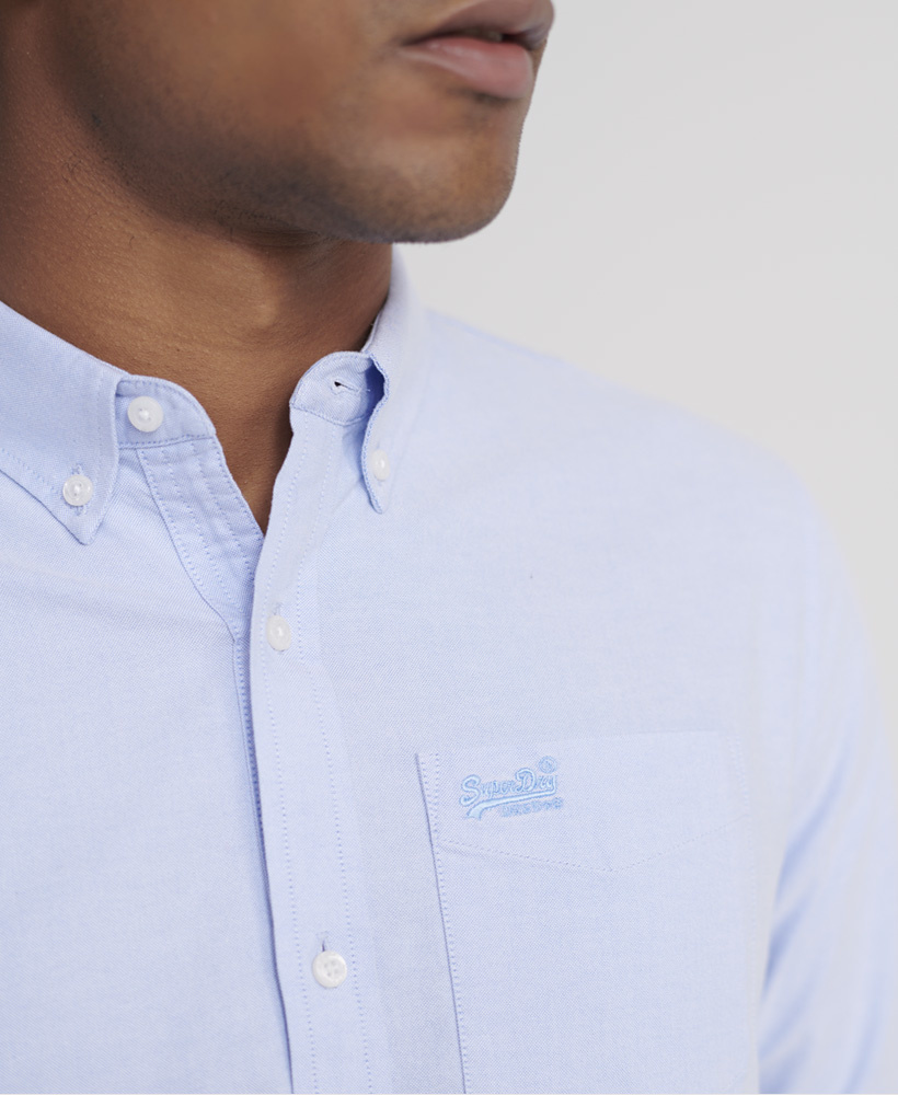 SUPERDRY chemise oxford classic university-8