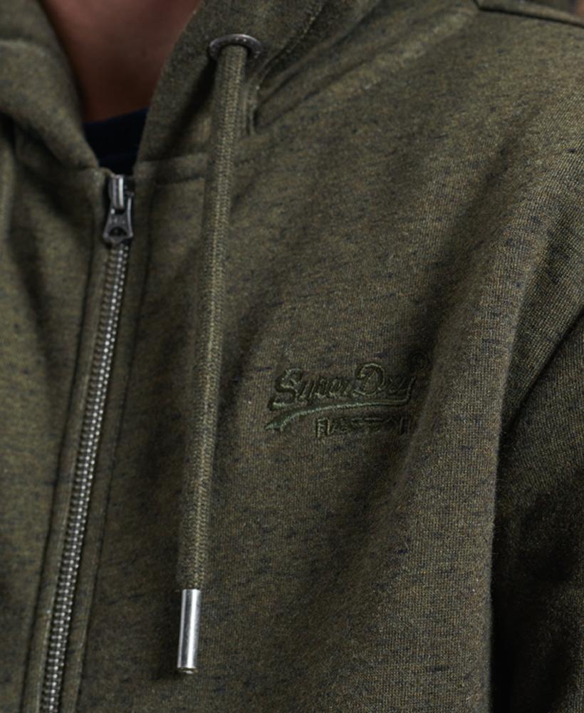 SUPERDRY sweat à capuche zippé-4
