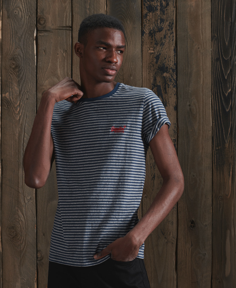 SUPERDRY t-shirt rayé-1