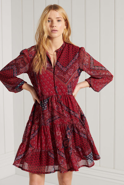 SUPERDRY robe chemise