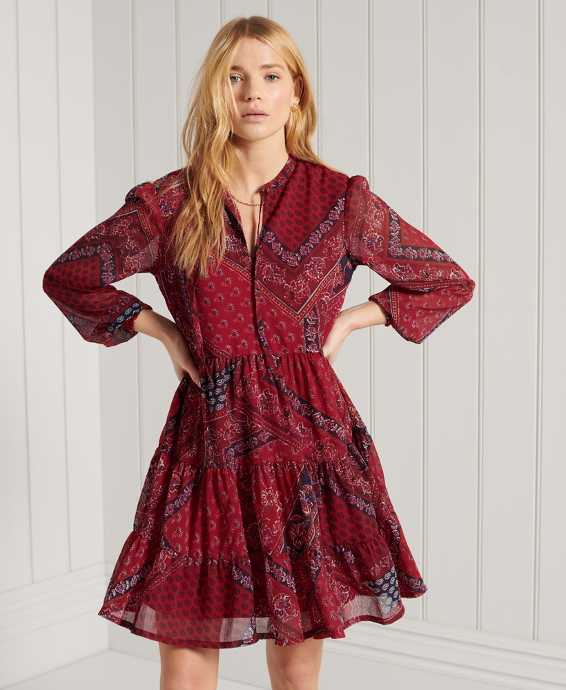SUPERDRY robe chemise-1