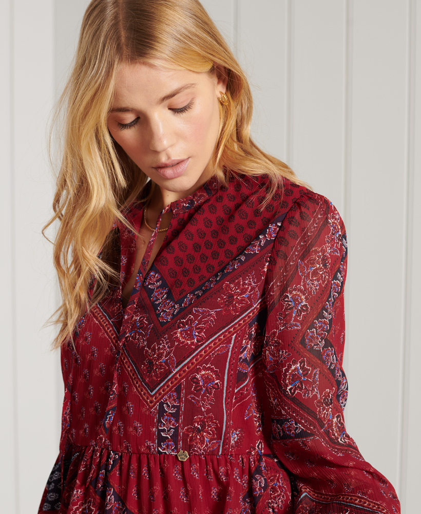 SUPERDRY robe chemise-3