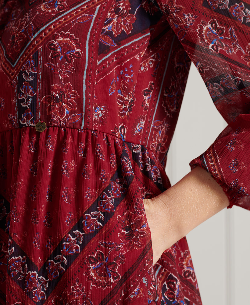 SUPERDRY robe chemise-4