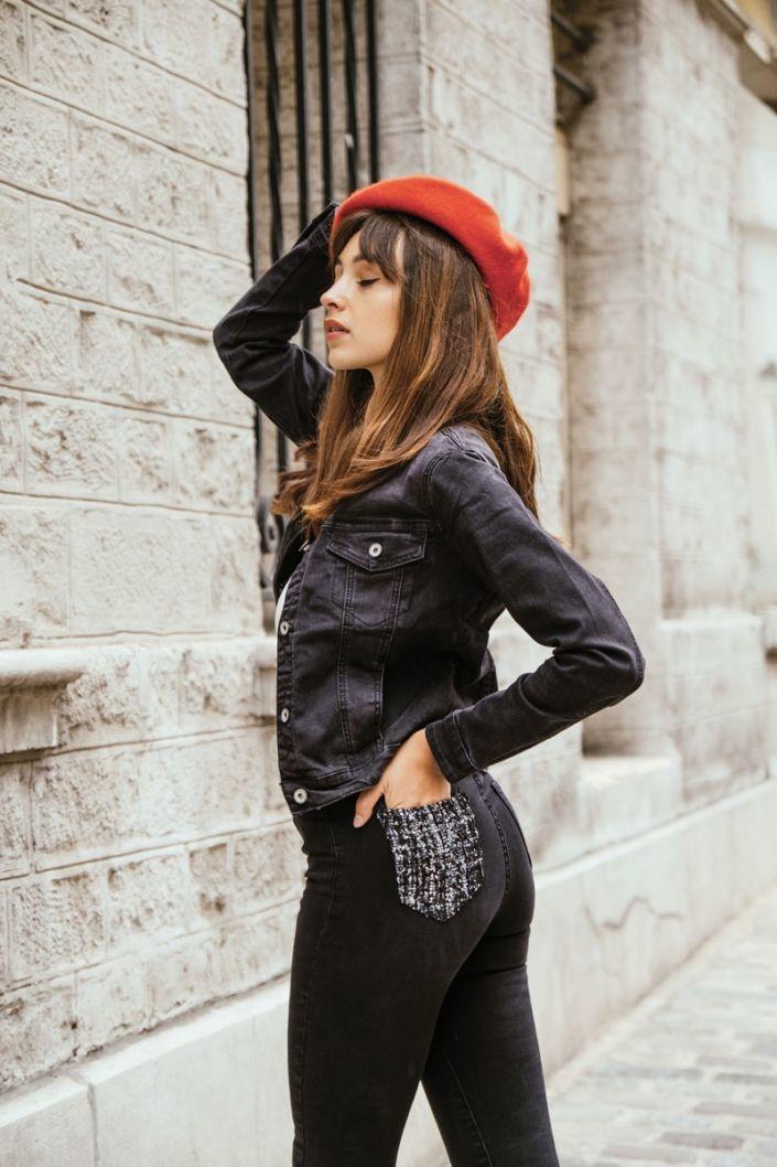 VALENCE veste noire-2